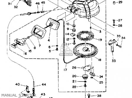 Yamaha 40(MH/ER/PR)Q 1992 parts lists and schematics