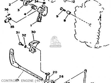Yamaha 40(MH/ER/PR)R 1993 parts lists and schematics