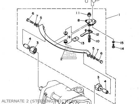 Yamaha 40(mh/er/tr) 50(er/th) P50(tr)t 1995 parts list