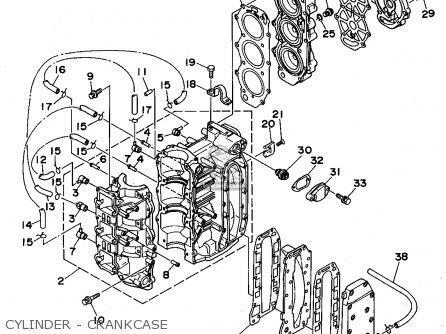 Yamaha 40(MH/ER/TR) 50(ER/TH) P50(TR)T 1995 parts lists