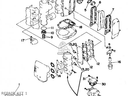 Yamaha 40MHS (6H4)/40ERS (6H4)/40PRS (6H4)/40TRS (6H4