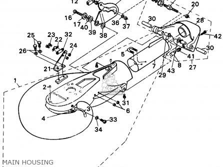 Yamaha 40S/50EL-90/115/200ETL(Q/R/S) JET DRIVE 1992-1994