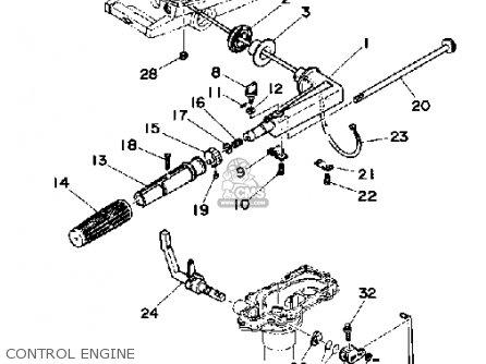 Yamaha 4G 1988 parts lists and schematics