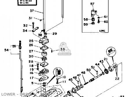 Yamaha 4g 1988 parts list partsmanual partsfiche
