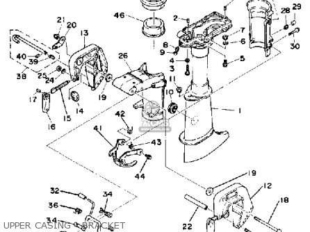 Yamaha 4G 1988 parts lists and schematics