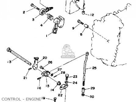 Yamaha 50ERP 1991 parts lists and schematics
