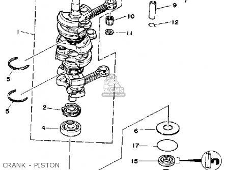 Yamaha 50erp 1991 parts list partsmanual partsfiche