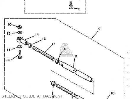 Yamaha 50ETSK/ETLK 1984/1985 parts lists and schematics