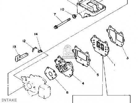 Yamaha 6D 1990 parts lists and schematics