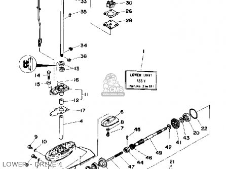 Yamaha 6D 1990 parts lists and schematics