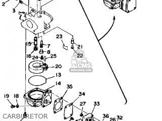 Yamaha 6j/8j 1986 parts list partsmanual partsfiche