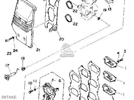 Yamaha 70 ETD 1990 parts lists and schematics
