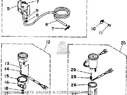 Yamaha 70 Etd 1990 parts list partsmanual partsfiche