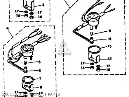 Yamaha 70 ETLN 1984 parts lists and schematics