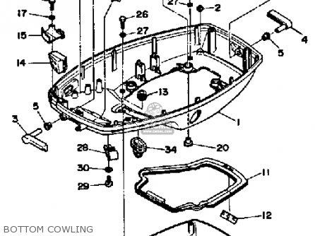 Yamaha 70ETJ 1986 parts lists and schematics