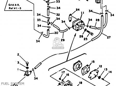 Yamaha 70ETLK 1985 parts lists and schematics