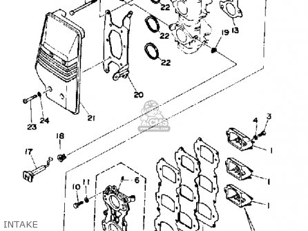 Yamaha 70TRP 1991 parts lists and schematics