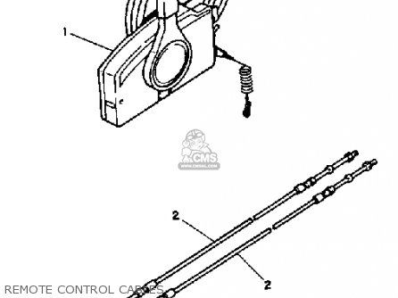 Yamaha 70trp 1991 parts list partsmanual partsfiche