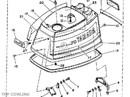 Yamaha 70TRQ 1992 parts lists and schematics