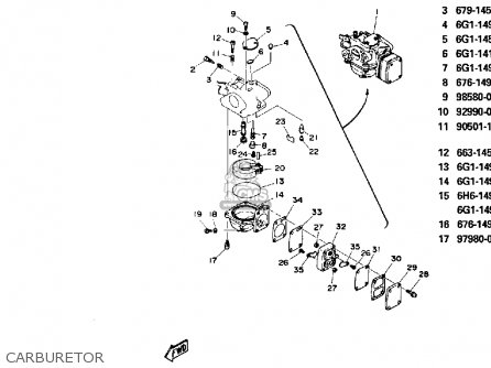 Yamaha 8P 1991 parts lists and schematics