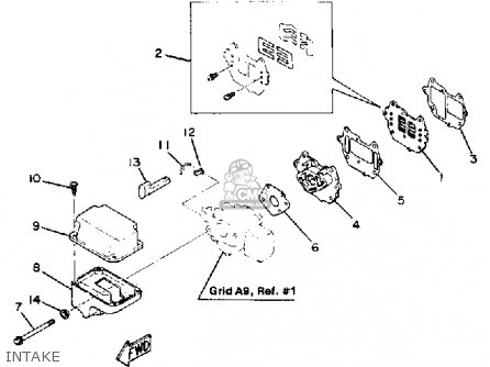 Yamaha 8SK/LK 1984/1985 parts lists and schematics