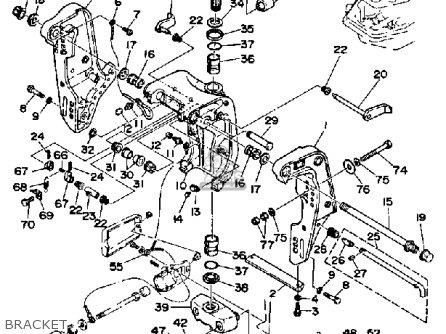 Yamaha 90etf 1989 parts list partsmanual partsfiche