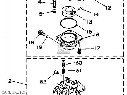 Yamaha 90ETF 1989 parts lists and schematics