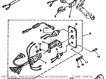 Yamaha 90ETJ 1986 parts lists and schematics