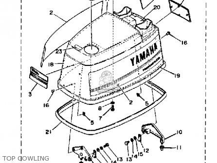 Yamaha 90etj 1986 parts list partsmanual partsfiche