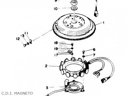 Yamaha 90trr (90tlrr) 1993 parts list partsmanual partsfiche