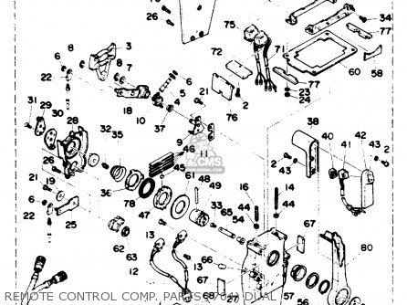 Yamaha 90TRR (90TLRR) 1993 parts lists and schematics