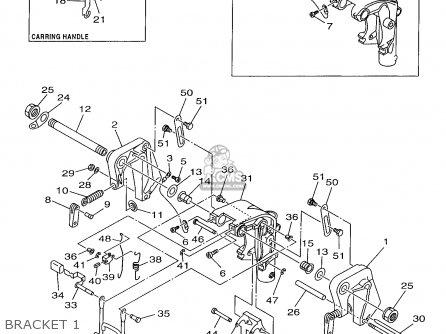 Yamaha 9.9/15MHW 1998 parts lists and schematics