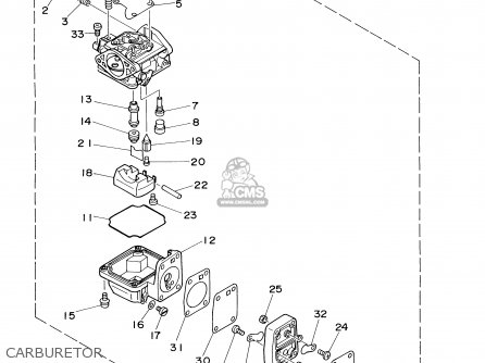 Yamaha 9.9/15MSHZ 2001 parts lists and schematics