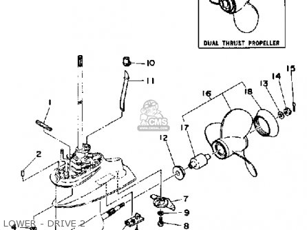 Yamaha 9.9D/15D 1990/1991 parts lists and schematics