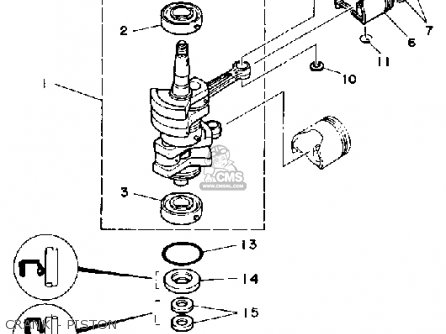Yamaha 9.9F/15F 1989 parts lists and schematics