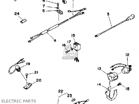 Yamaha 9.9f/15f 1989 parts list partsmanual partsfiche