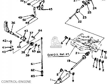 Yamaha 9.9H/15H 1986-1989 parts lists and schematics