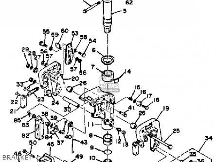 Yamaha 9.9J/15J 1986-1989 parts lists and schematics