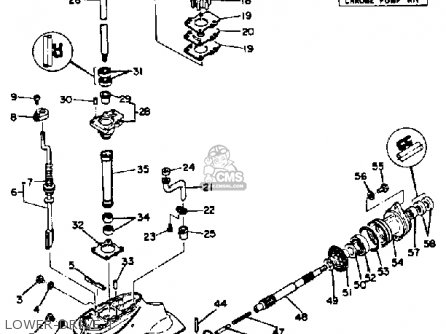 Yamaha 9.9J/15J 1986-1989 parts lists and schematics
