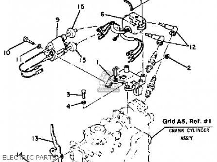 Yamaha 9.9K/15K 1984/1985 parts lists and schematics