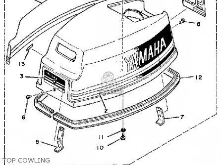 Yamaha 9.9K/15K 1984/1985 parts lists and schematics