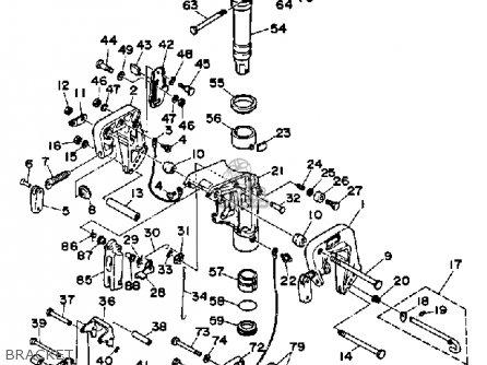 Yamaha 9.9m(e)hq/15m(e)hq 1992 parts list partsmanual
