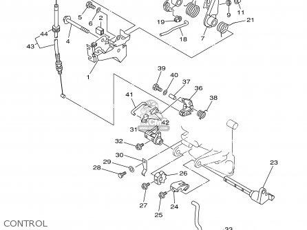 Yamaha 9.9mshb/15mshb 2003 parts list partsmanual partsfiche