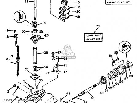 Yamaha 9.9n/15n 1984/1985 parts list partsmanual partsfiche