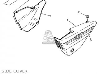 Yamaha AG100H 1996 3HA9 OTHER 263HA-700E1 parts lists and