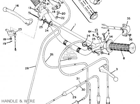 Yamaha AT1B 1970 USA parts lists and schematics