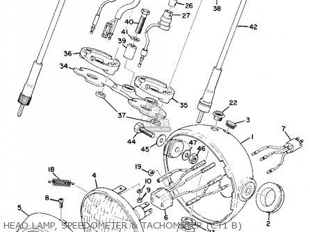Yamaha AT1B 1970 USA parts lists and schematics