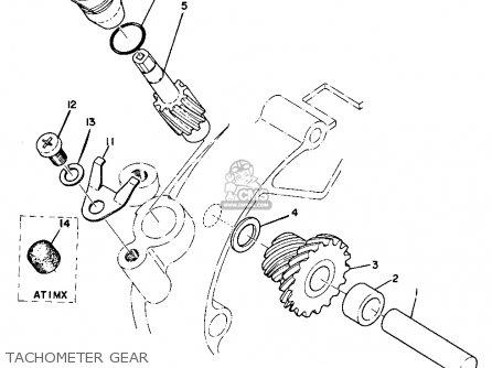 Yamaha AT1C 1971 USA parts lists and schematics