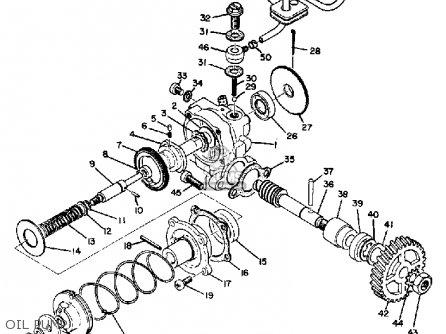Yamaha At1e 1969 parts list partsmanual partsfiche