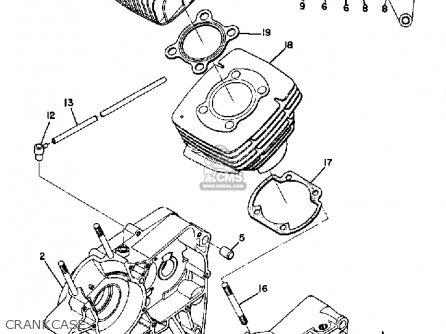 Yamaha AT1E 1969 USA parts lists and schematics